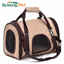 Simple Style Pet Dog Carrier Bag Pet Puppy Pet Dogs and Cats Dog Crates Portable Travel Luggage Bag Free shipping(China)