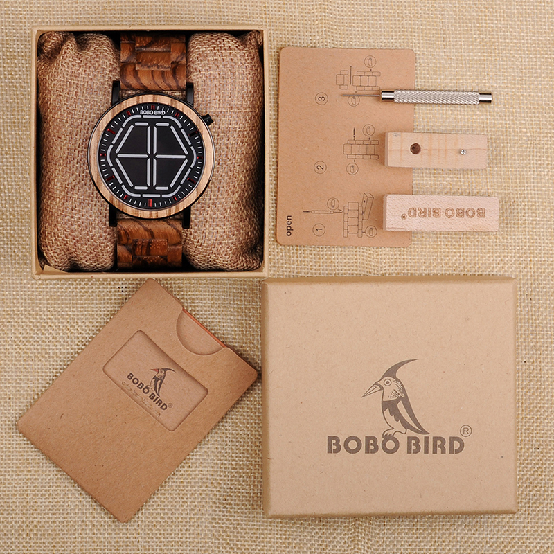 wooden wristwatches bobo bird fashion watches for gifts (72)