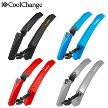 Coolchange Bicycle Bike Fender Mountain Bike Mudguard Front Rear Quick Release Cycling Fender Wings Mud Guard Bike Parts(China)
