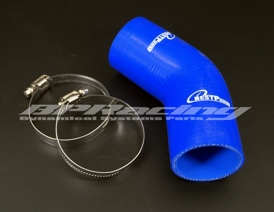 Auto Silicone Hoses 45 Elbow Reducer Rubber Coolant Pipe Joiner
