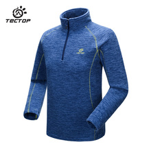 Tectop Men Women Jacket Outdoor Windproof Softshell Warm Camping Winter Jacket Thermal Fleece Pullover Female Sports Softshell(China)