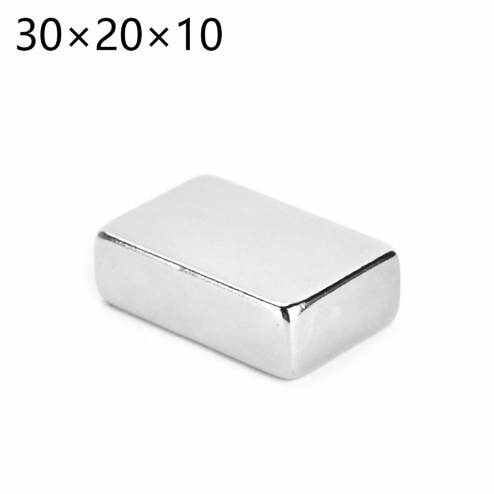 5pcs 20mm x 5mm x 3mm Very Strong DIY Fridge Model Neodymium Block Magnet