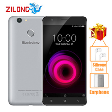 Original Blackview E7 Smartphone Android 6.0 5.5Inch MT6737 Quad Core 1.3GHZ 1GB RAM 16GB ROM 8.0MP Fingerprint 4G Mobile Phone