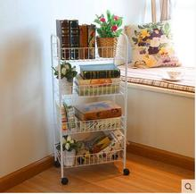 Hot Sale Vegetable Rack Mobile Storage Rack Fruit Shelf Kitchen Racks The Cart Landing Activities Free Shipping