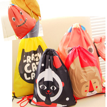 Waterproof Travel Pouch Drawstring Storage Bags Shoe Laundry Lingerie Makeup Cosmetic Underwear Organizer