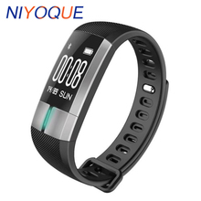 Buy NIYOQUE G20 ECG Monitoring Smart Bracelet Fitness Activity Tracker Blood Pressure Wristband Pulsometro PK id107 Xiomi mi band 2 for $32.29 in AliExpress store