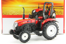 Made in China 1:24 Dongfanghong 404 Alloy wheeled tractor models Construction Machinery Model Favorite Model