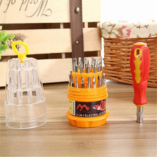 Multi Screwdriver 31 in 1 Portable Household Kit Repair Hand Tools With Non-slip Handle Magnetic Screw Driver Set