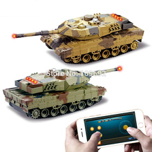 KAINISI H500 RC Tanks Battle Infrared Shooting Phone Bluetooth Gravity Sensor Super Power Remote Control Toys For Kids