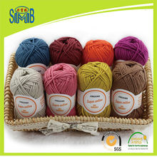 Jingxing, free shipping 3-5 days to US EU, shanghai SMB baumwolle knitting yarn factory retail sell OEKO TEX cotton acrylic yarn