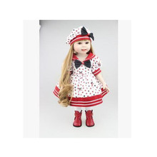 American Girl Doll Clothes Outfit Set for 18 Inches America Dolls,Lovely Fashion Doll Dress Accessories Beautiful Toy Skirt(China)