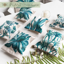 High quality Leaves  Style Tissue Box Creative Napkin Box Sitting Room cotton linen Tissue Boxes for Car