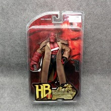 "J Ghee MEZCO Hellboy PVC Action Figure Collectible Model Toy 2 Styles 7"" 18cm"