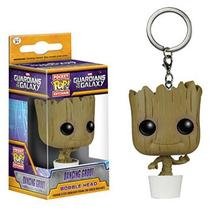 2017 FUNKO POP Guardians of the Galaxy Vol. 2 Groot toys Gamora Rocket Raccoon PVC Keychain Toys Pendants Dolls High Quality