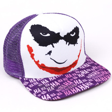 High quality Baseball Cap Unisex Hats DC The Joker Print Caps for Men and Women Hip Hop Hats(China)