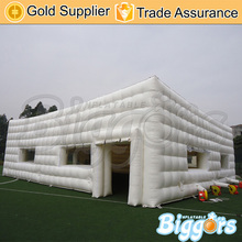 PVC huge space inflatable play tent for wedding event show advertising use(China)