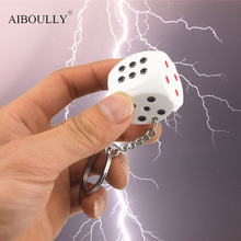 Electric Shock Toy Novelty Items keychain Prank Toy Dice Joke Gift Trick Goods April Fools' Day Gifts Shock Your Friend