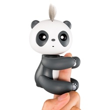 Finger Monkey Panda Toy Interactive Smart Colorful finger baby monkey Smart Induction Panda Toys Christmas Gift Kid Finger Toy(China)