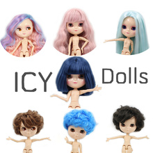 Nude ICY doll the same as Blyth with makeup,JOINT body,lower price 1/6 30cm BJD(China)