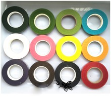 Paper Adhesive Tape DIY Craft Nylon Flower Stocking Accessories 12 Colors Handcraft Material