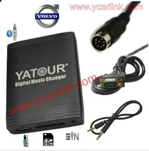 Yatour стерео для автомобиля с USB SD AUX MP3 плеер адаптер для Volvo C70 S40 S60 S80 V40 V70 XC70 Ху-Радио DVD RTI навигации(China)