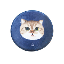 Round Cat Carpet Animal Seat Rug Gift Bedroom Living Room Children Room  Floor Mat(China