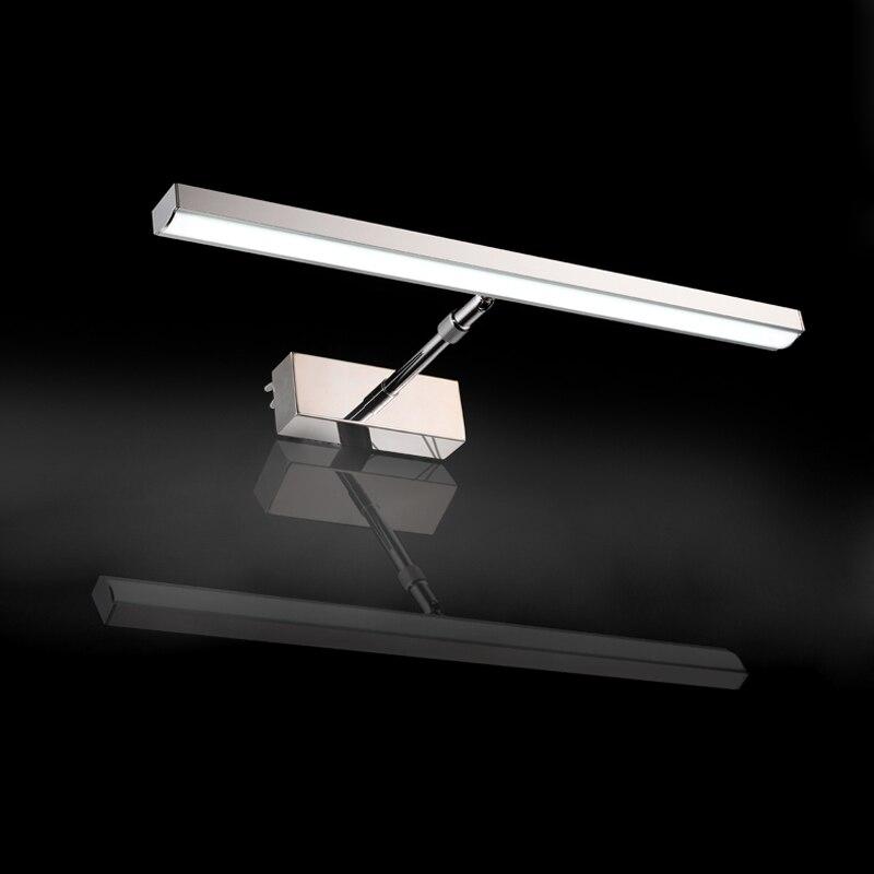 Brief fashion aluminium led  mirror light  cabinet lamp waterproof led mirror light 85~265V<br><br>Aliexpress