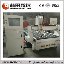 Wood cnc router machine 1325 promotion with vacuum bed&G code*u00*mmg*plt Instruction formate(China)