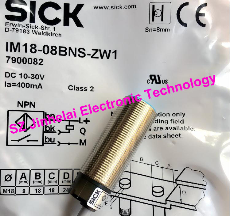 IM18-08BNS-ZW1,  IM18-08NPS-ZW1  New and original SICK  Proximity switch, Proximity sensors<br>