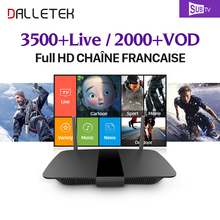 Buy French Arabic TV Box Android 6.0 4K 8GB HD WiFi Dalletektv Subtv 3500 Channels Europe French Arabic IPTV Smart Media Player for $81.32 in AliExpress store