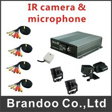 Mobile DVR Kit Vehicle DVR For Bus Taxi Support 4 Channel