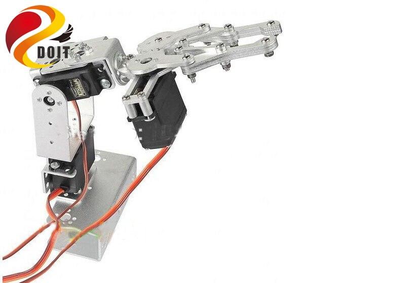 DOIT 3 DOF Robot Arm Mechanical Arm Manipulator with MG996R/DS3116 Servo for Remote Control Smart Robot DIY Robot Model<br>