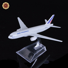 Home Office Decor France Airplane Metal Aircraft Model Kit Aeroplane Model Educational Toys Gift