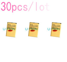 30pcs/lot 3030mAh BP-4L Gold Replacement Battery For Nokia E61i E63 E90 E90i 6650F N97 N97i E95 E71 E72 E73 E75 E55 Batteries