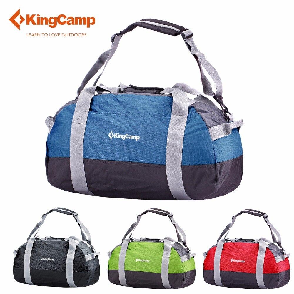 KingCamp 30L Travel bag Foldable Bag Waterproof Anti-Tear Gym Sport Luggage Ultralight Hiking Pack Camping travelling bag<br>