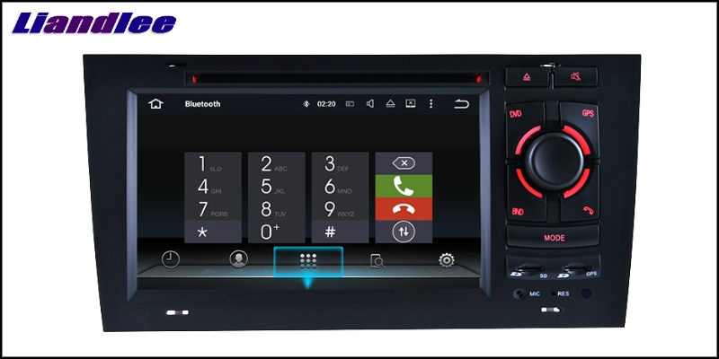 Liandlee Car Multimedia Player NAVI For Audi A6 C5 4B 1997~2004 Car Touch Screen System Radio TV DVD Stereo GPS Navigation 15