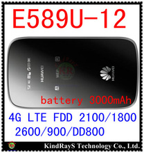 Unlocked Huawei E589 LTE 4g wifi router 3g 4g wifi dongle 4g wireless router E589u-12 4g mifi pocket pk e5377 e5220 e5573 e5756(China)