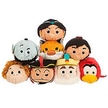 Tsum Tsum Aladdin Jasmine Princess Jafar King Sultan Genie Lago Abu Rajah Plush Toys Kids Stuffed Smartphone Cleaner Children