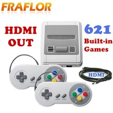 HD HDMI Out Retro MINI Retro Classic Handheld Game Player Family TV Video Game Console Childhood Built-in 621 8 bit Games(China)