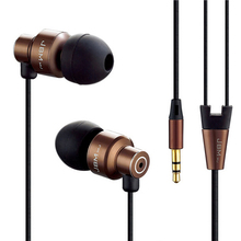 MJ8600 Metal Earphones Stereo Headphones Super Bass Headset 3.5mm Earbuds Sport Earpieces For MP3 MP4 Mobile Phone(China)
