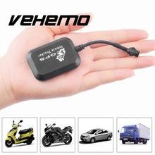 Vehemo Motorcycle GPRS GSM GPS Tracker mini Locator 4 Bands Real Time Tracking Tracker Device for Car Auto Vehicle Tracker(China)
