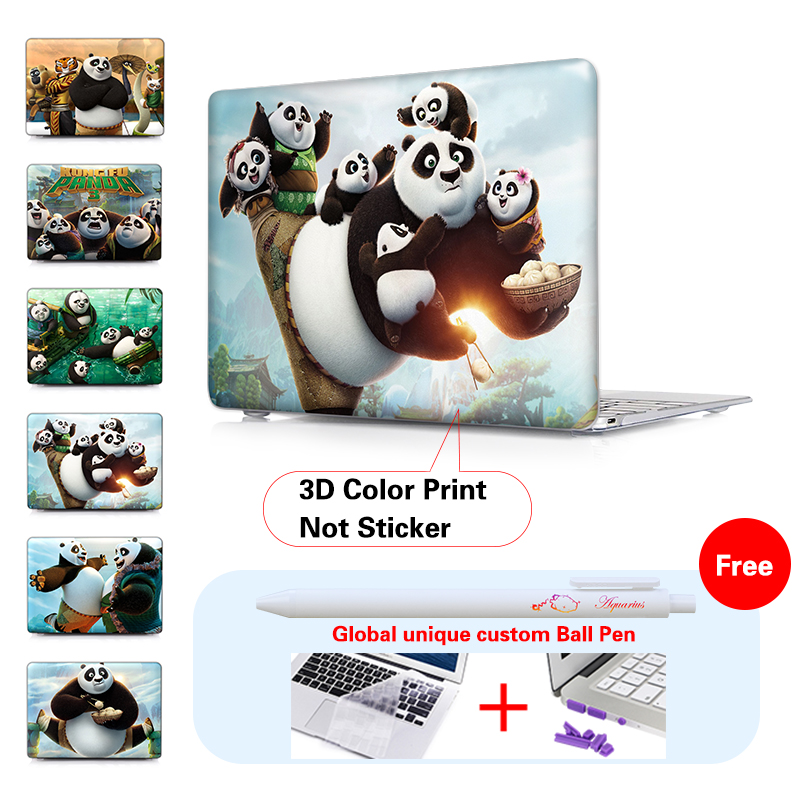 Cartoons Kungfu Panda Daddy Laptop Skin Case Notebook Cover For Macbook Air 11 13.3 New 12 Inch Pro 13 15 Retina Laptop Shell<br><br>Aliexpress