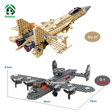 Military Fighter Plane Su-27 G-1 Building Blocks Educational Bricks Toys Models & Building Toys Compatible lepin  Kids Toys