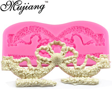 Mujiang DIY Imperial Crown Silicone Lace Mold Fondant Cake Chocolate Mould Kitchen Baking Molds Sugarcraft Cake Decorating Tools(China)