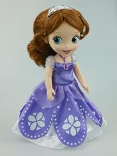 Hot sofia the first Princess sofia Toddler Animators Collection Doll 12'' best gift for kid Anime club