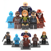 X0131 Building Blocks Super Heroes Watchmen Night Owlman Walter Kovacs Dr. Manhattan Comedian Silk Spectre Ozymandias Kids Toys(China)
