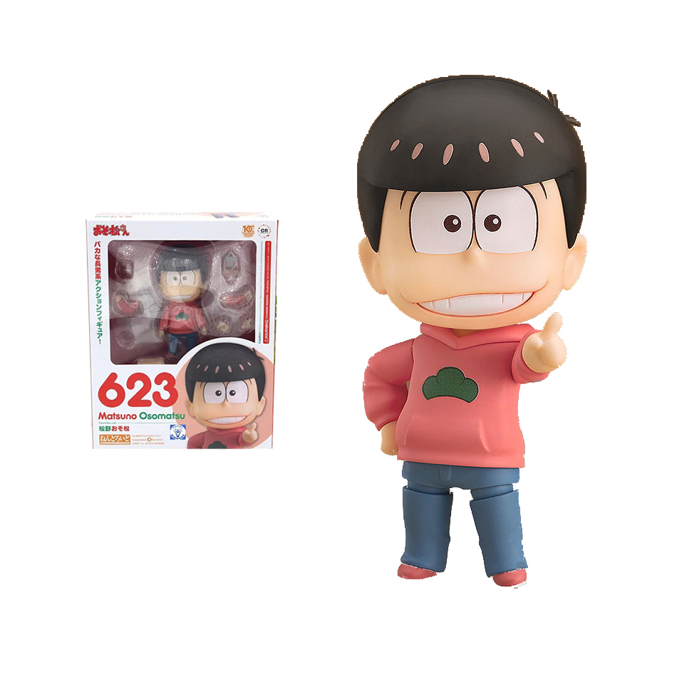 1pcs OSOMATSU OSO Anime Cartoon gold Spirits 623 Boxed 10cm PVC Action Figure Collection Model Doll Toy Nendoroid gsc<br><br>Aliexpress
