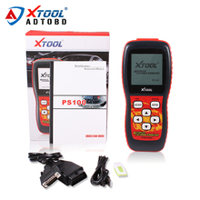 Best Price XTool PS100 Diagnostics Tool XTOOL PS100 Best Quality PS 100 Code Readers ps100 CANOBDII EOBDII scanner obd2 scanner(China)