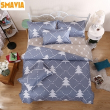 SMAVIA Fashion 3/4pcs Bedding Sets Quality Duvet Cover Bed Sheet Pillowcase Twin/Full/Queen/King Size Polyester Quilt Cover Sets