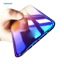 VOONGSON Brand Luxury Case For Samsung Galaxy S8 / S8 Plus Aurora Gradient Color Transparent Hard PC Cover For Galaxy S 8 Plus